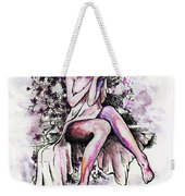 A Pretty Flower Weekender Tote Bag