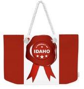 A Product Of Idaho Weekender Tote Bag