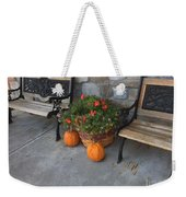 A Promise Of An Amish Harvest Weekender Tote Bag
