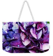 A Puff Of Purple Weekender Tote Bag