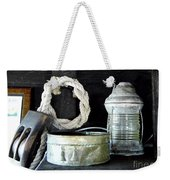 A Pulley And A Lamp Weekender Tote Bag