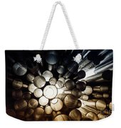 A Question Of Perspective On Sibelius Monument Weekender Tote Bag
