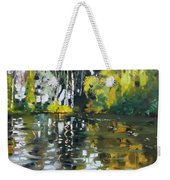A Quiet Afternoon Reflection Weekender Tote Bag
