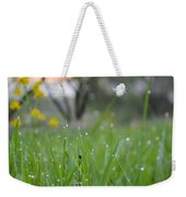 A Rabbits View Weekender Tote Bag