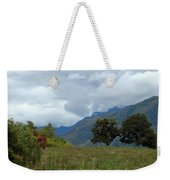 A Rainy Day In The Mountains Of Ecuador Weekender Tote Bag