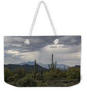 A Rainy Desert Afternoon  Weekender Tote Bag