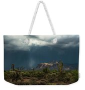 A Rainy Evening In The Superstitions  Weekender Tote Bag