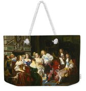 A Reading By Madame De Sevigne Weekender Tote Bag