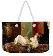 A Reclining Odalisque Weekender Tote Bag
