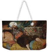 A Reclining Turk Smoking A Hookah, 1844 Weekender Tote Bag