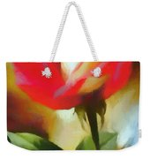 A Red Rose For Amelia Weekender Tote Bag