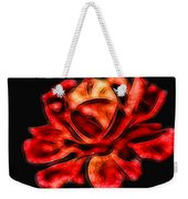 A Red Rose For You 2 Weekender Tote Bag by Mariola Bitner