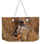 A Red Tailed Hawk  Weekender Tote Bag