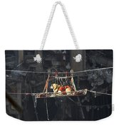 A Rescue Dog Is Transported Weekender Tote Bag by Stocktrek Images
