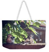 A Rest Before The Flight Weekender Tote Bag