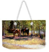 A Rest By The River Weekender Tote Bag