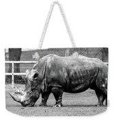 A Rhinoceros Weekender Tote Bag