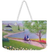 A Ride In The Park Weekender Tote Bag