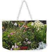 A Riot Of Flowers Weekender Tote Bag by Lorraine Devon Wilke