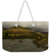 A River Runs Through The Brooks Range Alaska Weekender Tote Bag
