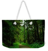A Road Through The Forest Weekender Tote Bag