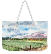 A Road To The Mountain Weekender Tote Bag
