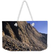 A Rock Face On Cloud Peak In The Big Weekender Tote Bag