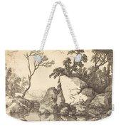 A Rocky Pond Weekender Tote Bag