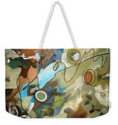 A Rolling Stone Gathers No Moss Weekender Tote Bag