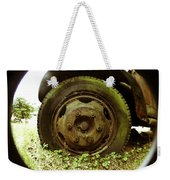 A Rolling Tire Gathers No Moss Weekender Tote Bag