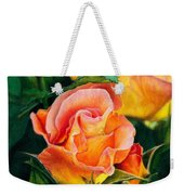 A Rose For Nan Weekender Tote Bag by Amanda Jensen