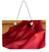 A Rose In Horizonal Weekender Tote Bag
