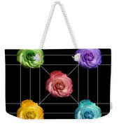 A Rose Is A Rose Is A Rose Weekender Tote Bag
