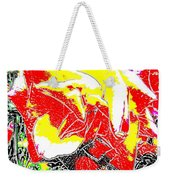 A Rose Is Weekender Tote Bag