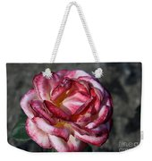 A Rose Of Different Shades Of Red Weekender Tote Bag