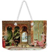 A Royal Palace In Morocco Weekender Tote Bag by Benjamin Jean Joseph Constant