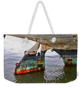 A Rudder Of Many Colors Weekender Tote Bag