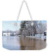 A Rural Lake Weekender Tote Bag