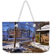 A Sandpoint Winter Weekender Tote Bag