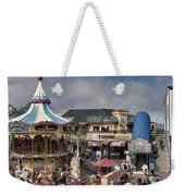 A Scene At The San Francisco Carousel Weekender Tote Bag