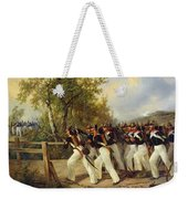 A Scene From The Soldier's Life Weekender Tote Bag