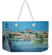 A Scene In Prague 3 Weekender Tote Bag