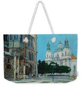 A Scene In Prague Weekender Tote Bag