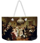 A Schubert Evening In A Vienna Salon Weekender Tote Bag
