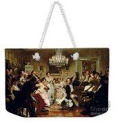 A Schubert Evening In A Vienna Salon Weekender Tote Bag
