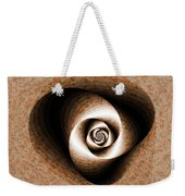 a Sculpt Rose Weekender Tote Bag