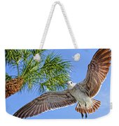 A Seagull Flyby Weekender Tote Bag