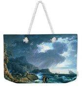 A Seastorm Weekender Tote Bag