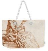 A Seated Woman Weekender Tote Bag