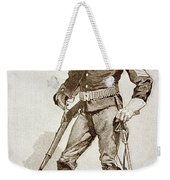 A Sergeant Of The Us Cavalry Weekender Tote Bag